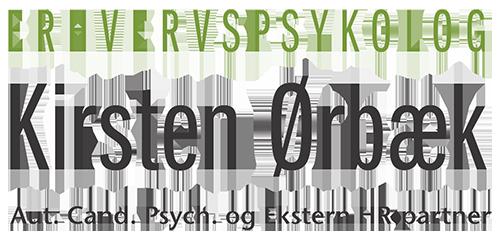 Kirsten Ørbæk - Erhvervspsykolog